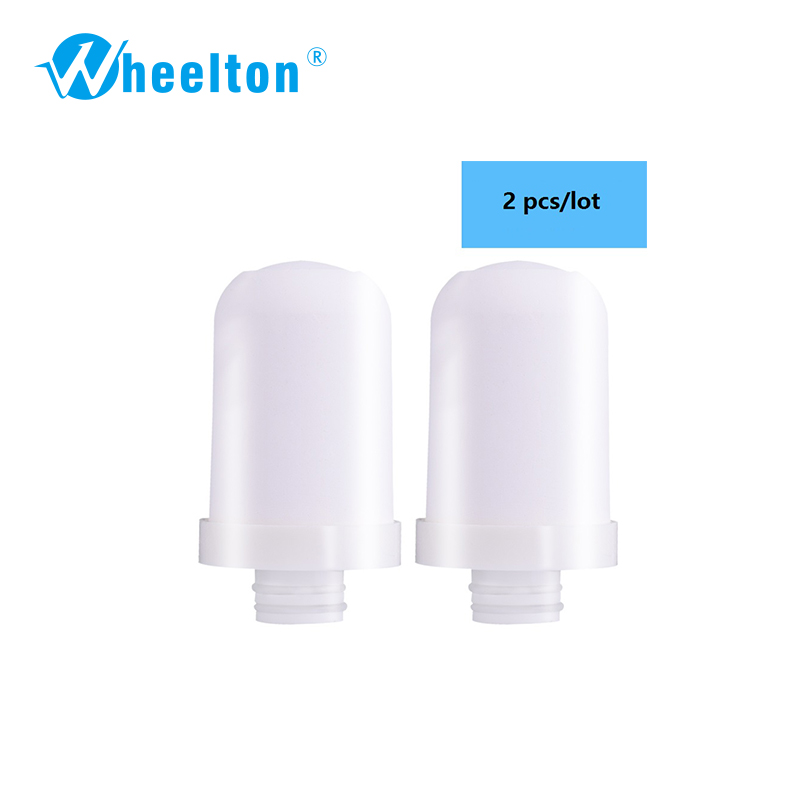 Wheelton Brand High Quality  Filter Cartridges Element For  Water Filter Faucet  LW-89  Water Purifier 2pcs/lot Free Shipping