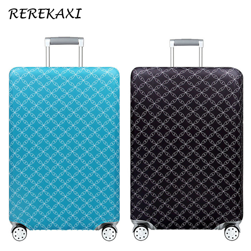 Thicker Travel Suitcase Cover 19-32 Inch Elastic Multicolor Luggage Covers Trolley Dust Protective Case Cover Travel AccessoriesThicker Travel Suitcase Cover 19-32 Inch Elastic Multicolor Luggage Covers Trolley Dust Protective Case Cover Travel Accessories