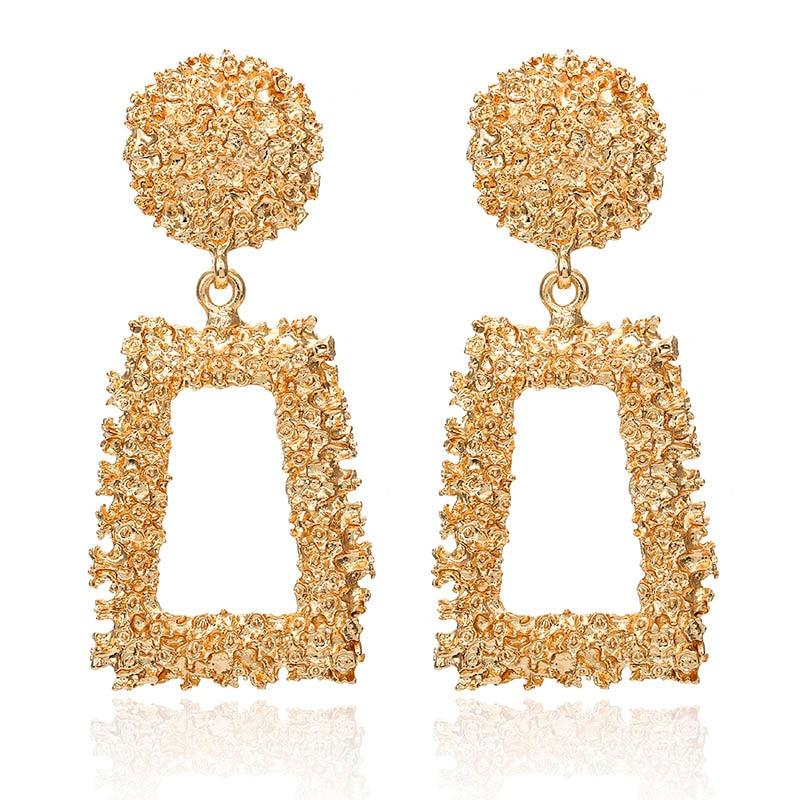 19 Big Geometric Earrings Fashion Statement earrings For Women Hanging Dangle Earrings Drop Earrings modern Jewelry 571 10