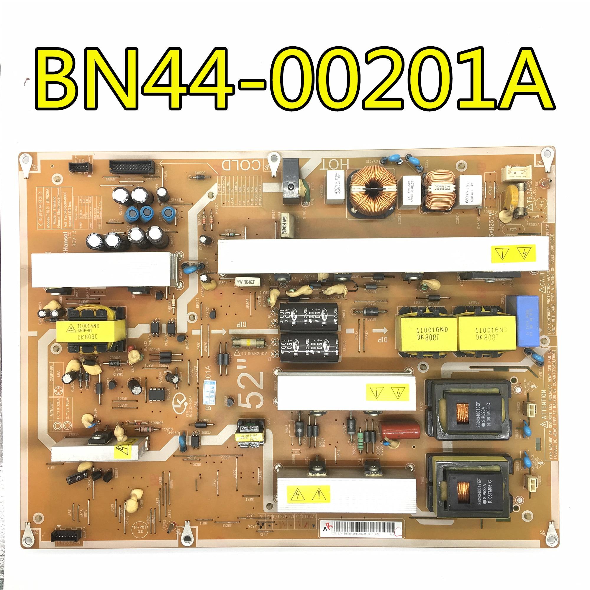 Test d'origine 100% pour carte d'alimentation samgsung LA52A550 BN44-00201A SIP528A LTF520HB01