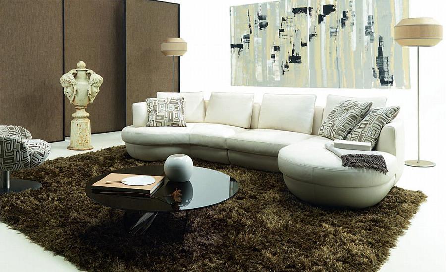 Rounded Corner Sofas Rounded Corner Sofa Uk Modern Sofas ...