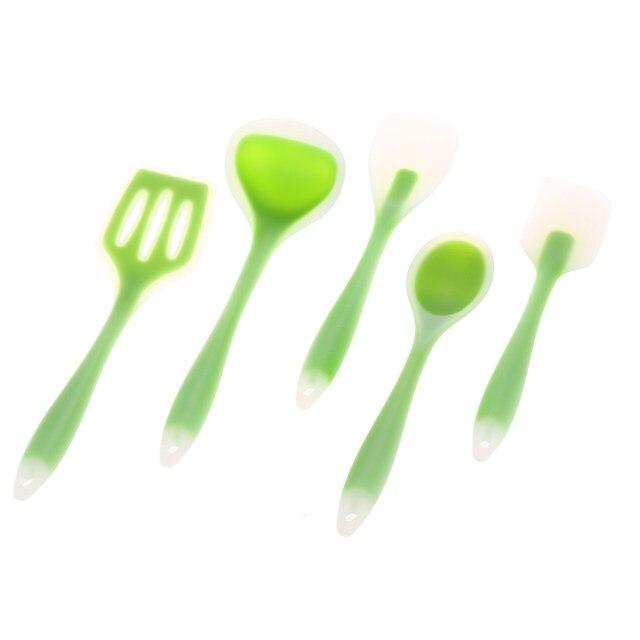 Online Shop 5 pz silicone di cottura Della Cucina spatola di ...