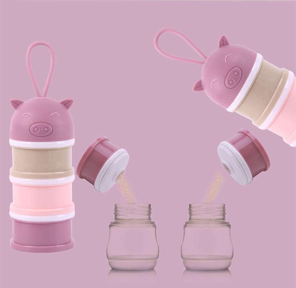 Playpen Baby® 3-Layer Milk Powder Container with Lid