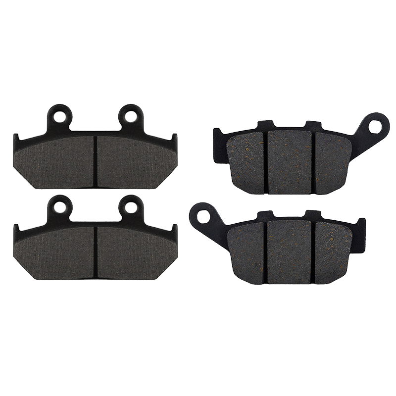 Motorcycle Front and Rear Brake Pads for <font><b>HONDA</b></font> XL600V XL 600 Trans Alp 600 1991-1993 NX650 <font><b>NX</b></font> 650 Dominator 1988-1991 image