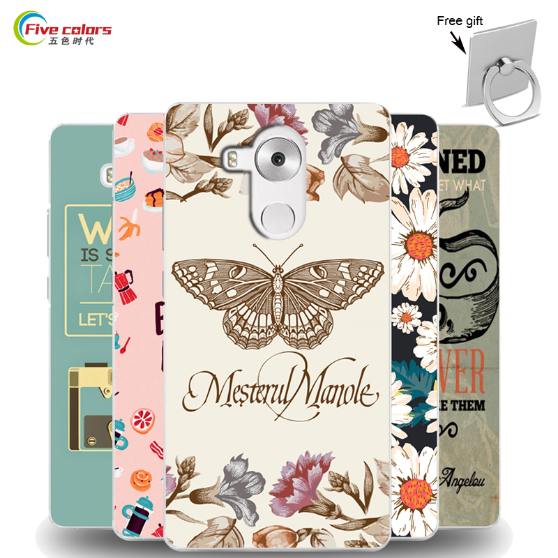 Huawei Mate 8 Case Cover Cartoon UV Print Painting Hard Plastic Phone For Mate8 60 Inch
