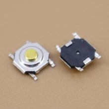YuXi 1 pcs/lot Notebook Tablet 4*4*1.7 MM Push Switch Tombol 4SMD 4x4x1.7 Laptop Sentuh Tombol Saklar Mikro(China)