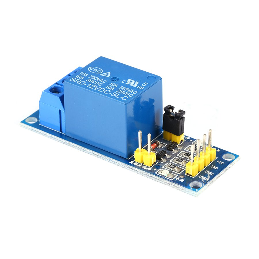 Quality 12 Volt Relay Wiring Source Diagram 4 Pole 50amp 12v Module With Optocoupler H L High Level Triger Blue Color Rh Aliexpress Com 50 Amp Block