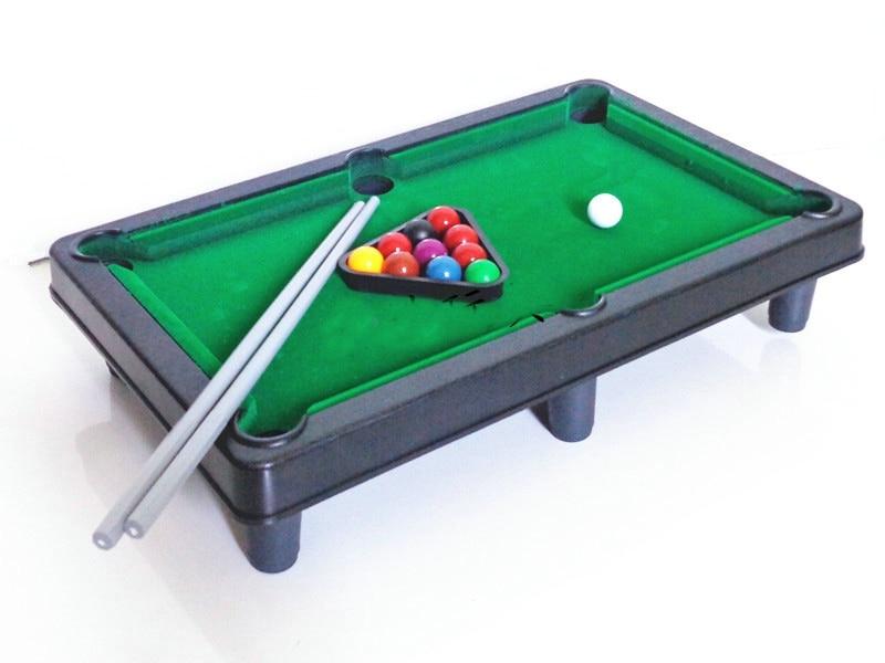 The New Pool Table Toys Children Educational Snooker Billiards Perceptivity Developing Plastic Unisex