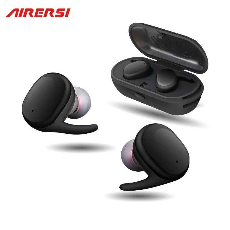 Touch wireless Sports Headphones TWS Mini Bluetooth Headset IPX5 waterproof  Earphone with Mic for iphone / xiaomi android phone wireless headphones bluetooth earphone suitable for iphone samsung bluetooth headset 4 2 tws mini microphone