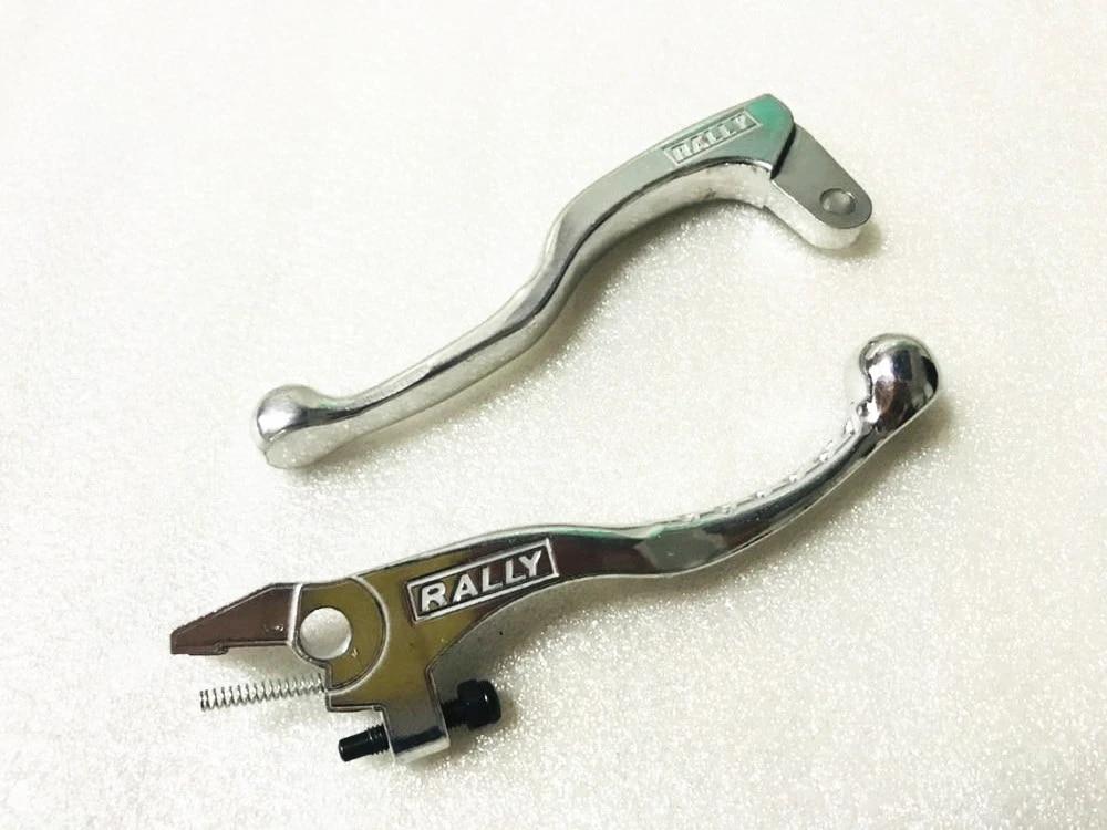 2pcs Chrome Brake Lever Clutch For Suzuki DR250 650 DRZ400 DRZ 400 Motorcycle