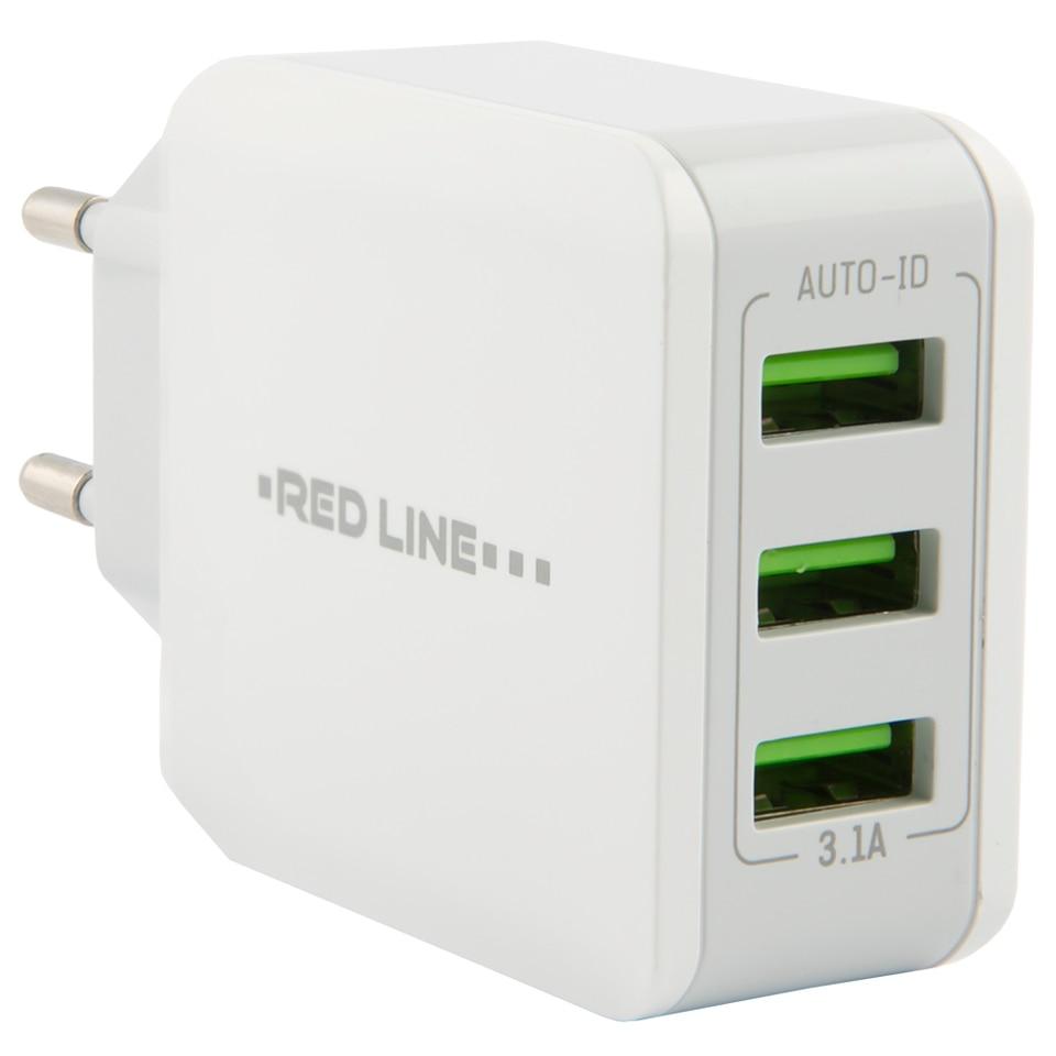 Купить со скидкой Сетевое зарядное устройство Red Line UT000010355