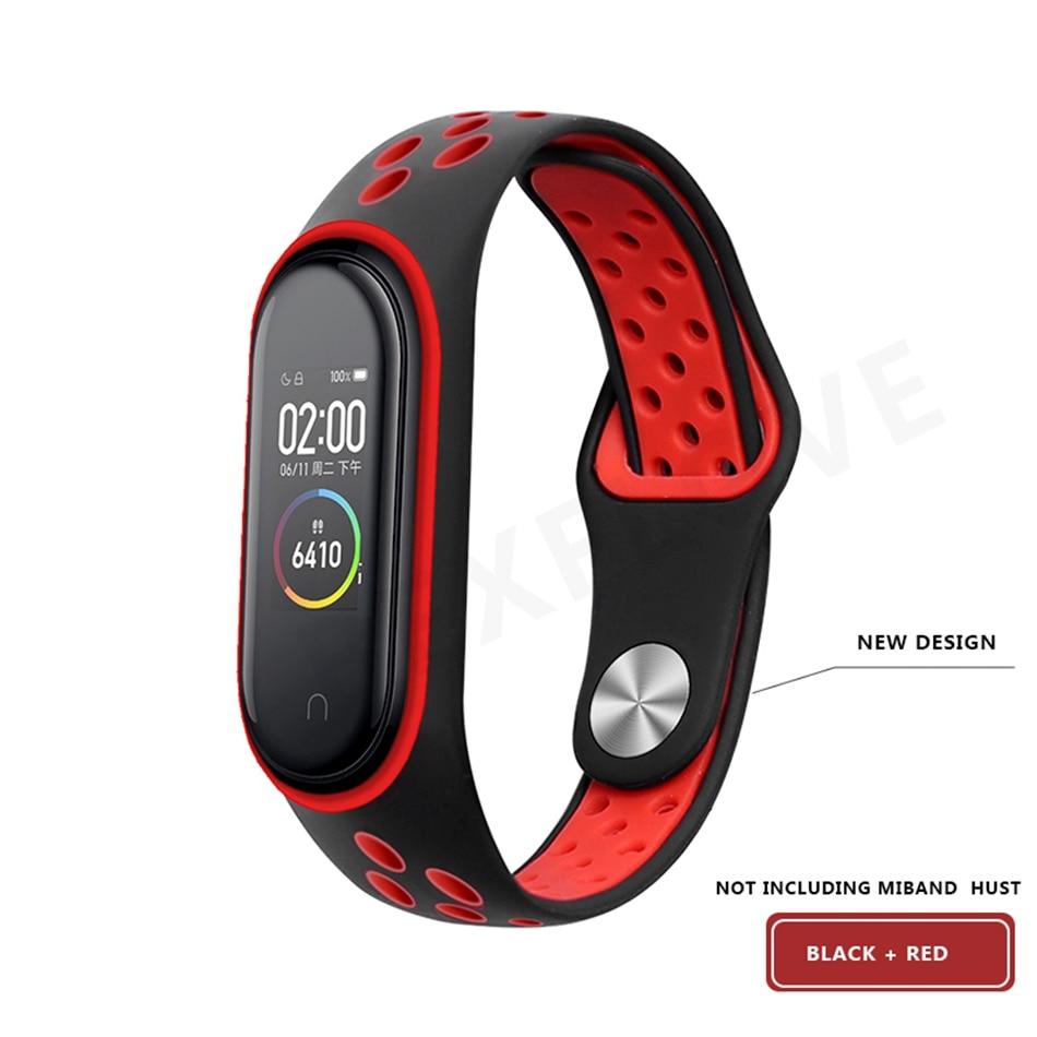 Clear Mi Band 4 3 Strap Wrist Strap For Xiaomi Mi Band 3 4 Bracelet Silicone Miband 3 4 NFC Accessories Smart Mi band4 Correa 3