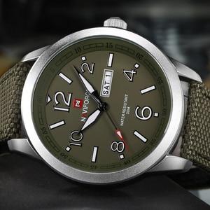 Image 2 - NAVIFORCE reloj de pulsera deportivo para hombres, reloj de pulsera militar para hombres, reloj de pulsera informal a la moda para Camping, reloj Masculino