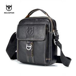 Bullcaptain Для мужчин сумка Классический бренд Для мужчин сумка Винтаж Стиль Повседневное Для мужчин Курьерские сумки Акция сумка мужская Лиде...