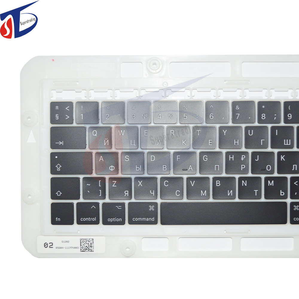 Brand new Keycap for Macbook Pro Retina 13 15 A1706 A1707 Russian Russia RU Keyboard Keys Key Cap Keycaps Late 2016 Mid 2017 image