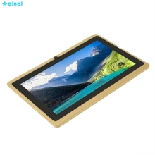 Ainol 7 inch Children Tablets PC  512MB+4GB A33 Quad Core Dual Camera 1024*600 Android 4.4 Tablet PC With Silicone Cover недорго, оригинальная цена
