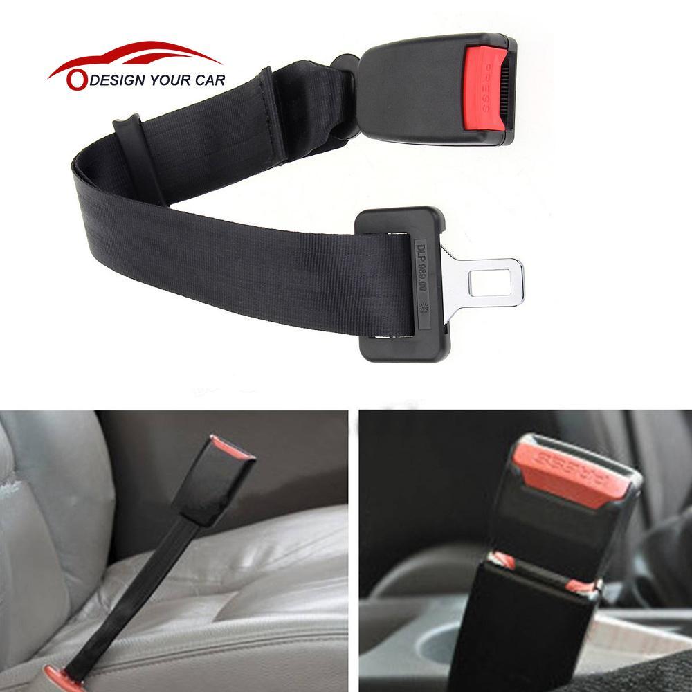 25~65cm Adjustable Car Seat Belt Seatbelt Extender Extension Extender Buckle Car