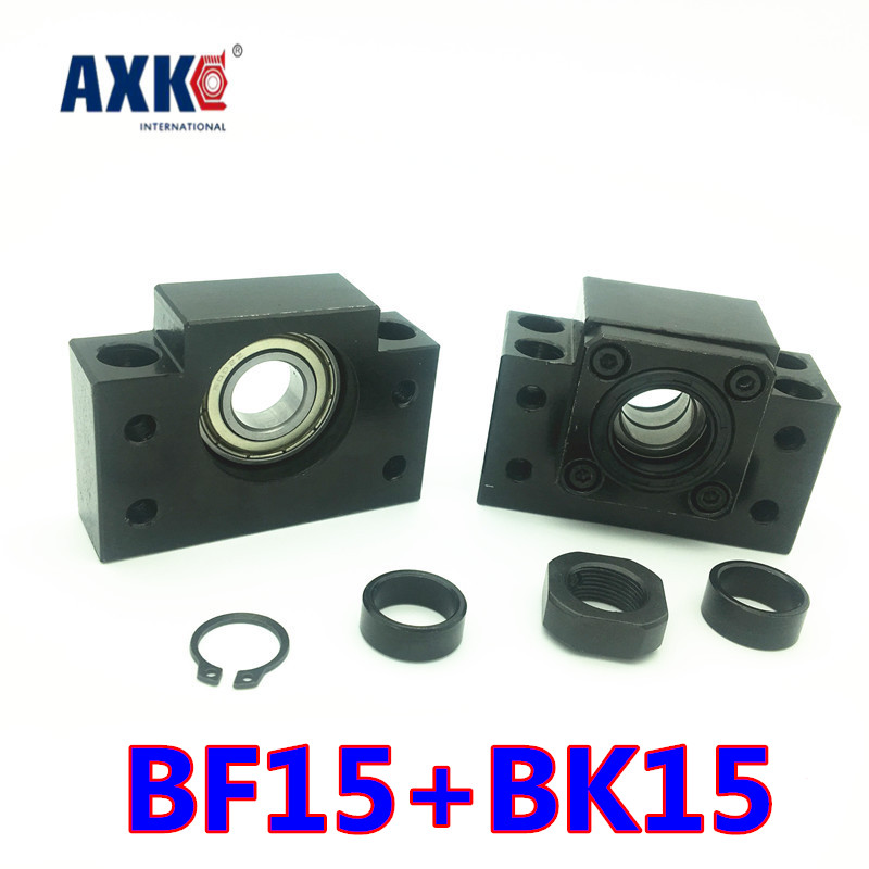 2019 Hot Sale Ball Bearing Free Shipping Bk15 Bf15 Set : One Pc Of And For Sfu2005 Sfu2010 Ball Screw End Support Cnc Parts Xyz