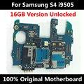 Para samsung galaxy s4 i9505 16 gb original desbloqueado telefone oficial motherboard 100% mainboad com chips de boa qualidade em todo o mundo
