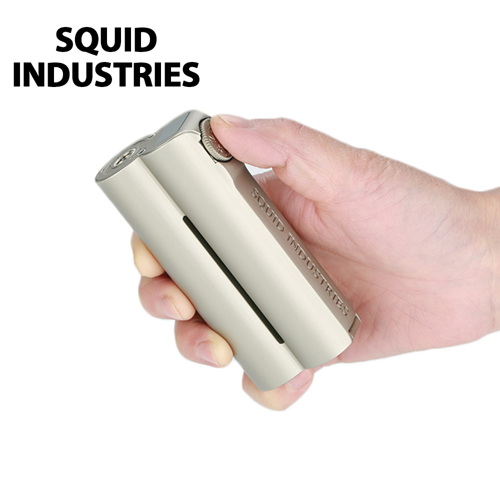 Les Levées Du Ciel Squid Industries Double Baril V3 150 W VW MOD/pacificateur XL RTA 5 ml/9 ml réservoir ecig vapoteuse VS Glisser 2/LUXE Mod