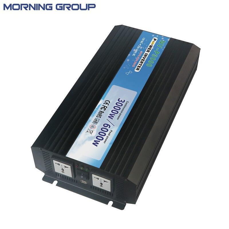 P3000 3000W high quality pure sine wave inverter generator meziere wp101b sbc billet elec w p