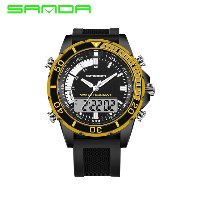 2016 New Listing Men'S Luxury Brand Fashion Sport Watch Men Waterproof Military Watches S Shock Digital Watches quartz-watch