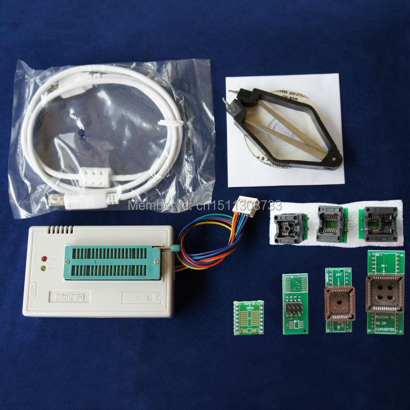 Xgecu 100% натуральная TL866A TL866 TL866A Универсальный программист ICSP Поддержка Flash \ EEPROM \ MCU СОП \ PLCC \ tsop включает 7 адаптеров