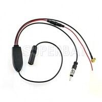 Superbat Digital Radio Universal DAB DVB FM AM Car Aerial Ariel Antenna Signal Splitter Amplifier