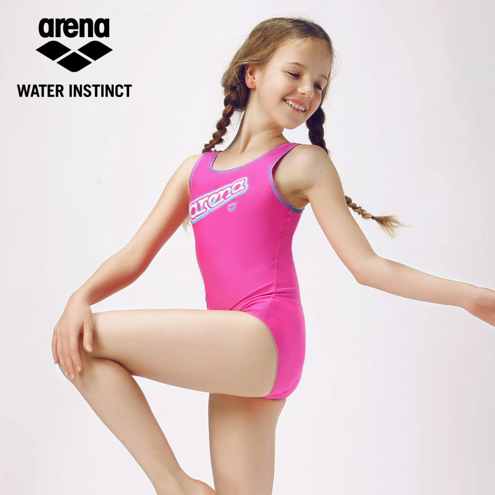 Arena New Arrival Kids Swim Suit Girls Quick Dry Comfortable Fit Swim Wear for 10 15