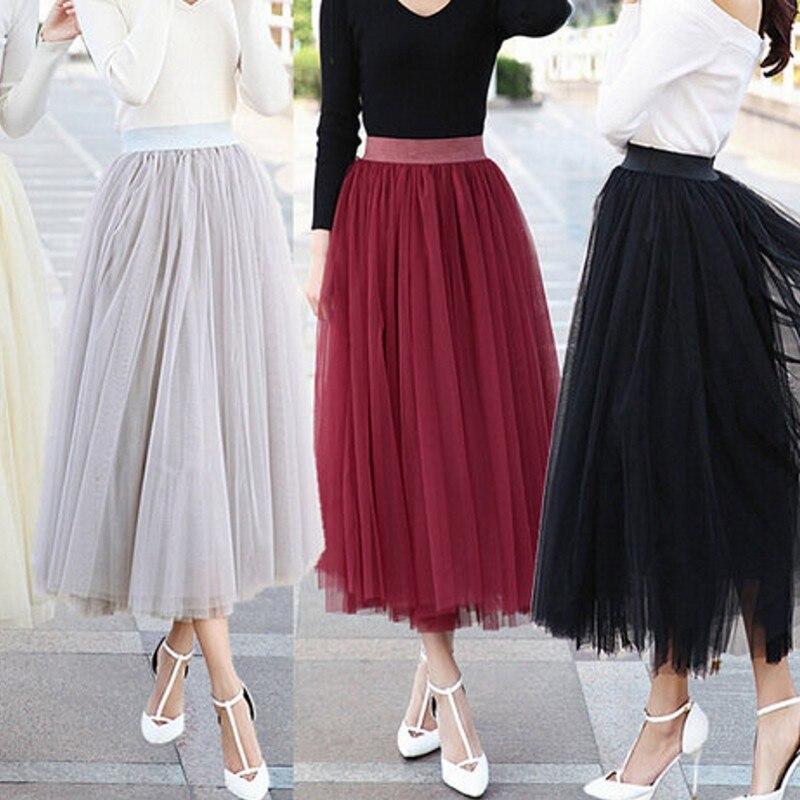 Online Get Cheap Black Ankle Length Skirt -Aliexpress.com ...