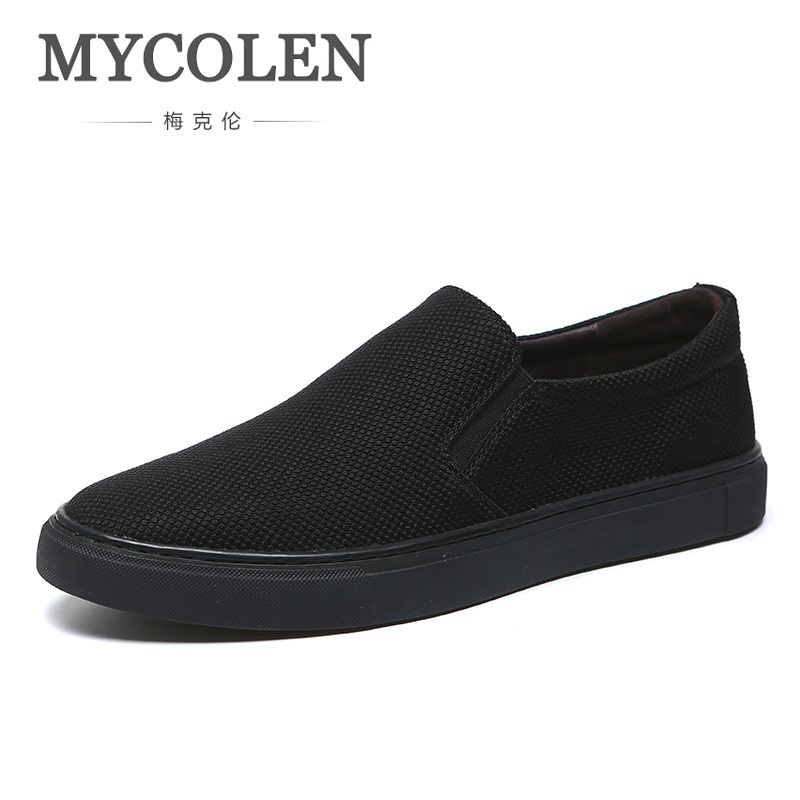 MYCOLEN 2018 The New Listing Shoes Men Breathable Fashion Outdoor Canvas Shoes Comfortable Simple Light Men Shoes Calzado big машинка bobby car rot