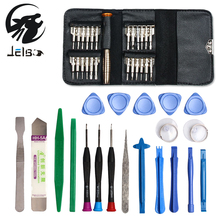 Jelbo 45 in 1 Computer Tool Kit Torx Screwdriver Repair Tool Set Hand Tools For IPhone Mobile Phone Xiaomi Tablet PC Small Toys(China)