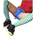 Meias Listradas de Verde e Branco dos homens de verão Meias Meias meias de Seda dos homens