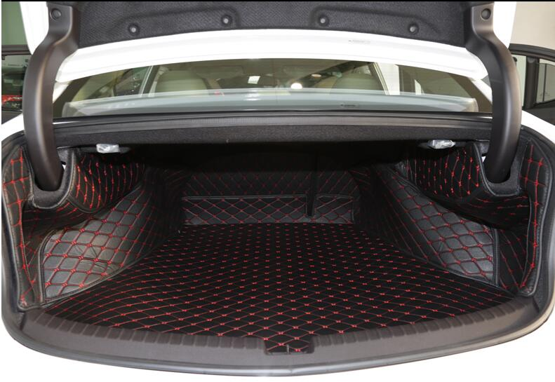 Good mats! Special trunk mats for New Acura TLX 2016 durable waterproof boot carpets liner for TLX 2015,Free shipping