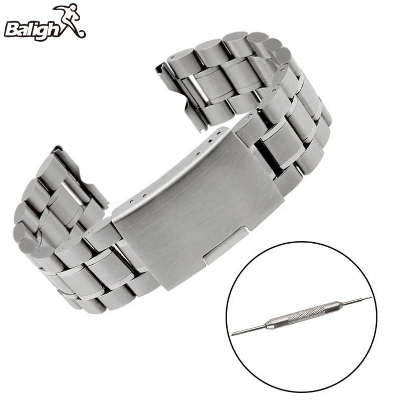 Newest Fashion High Quality Stainless Steel Strap Replacement Band + Tools And Three Sticks