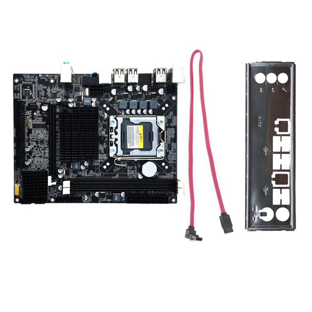 Top Quality Desktop Motherboard Computer Mainboard For X58 LGA 1366 DDR3 16GB Support ECC RAM For Quad-Core Six-Core Needle 8PIN new desktop motherboard x58 for lga 1366 ddr3 16gb usb2 0 boards for quad core needle 8pin cpu motherboard
