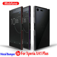 High Quality Mobfone For Xperia XA1 Plus 5 5inch Ultra Thin Slim Aluminum Metal Bumper Frame