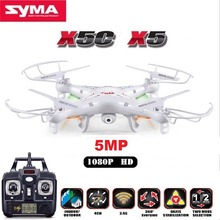 SYMA X5C Upgrade Version RC Drone 6 Axis Remote Control Helicopter Quadcopter With 5MP HD Camera
