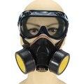 Venta caliente alta calidad Anti polvo Spray de pintura Industrial química Gas respirador máscara negro