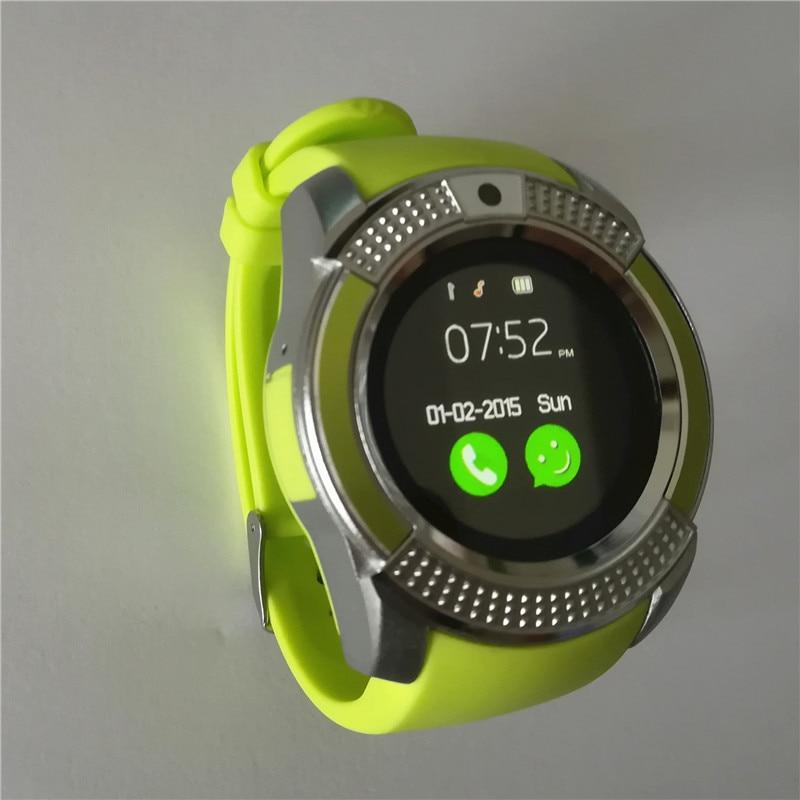 SOVOGU G24 V8 DZ09 U8 Smartwatch Bluetooth Smart Watch With Camera SIM TF Card Watch For Android S8 IOS Smartphone In RetailBox