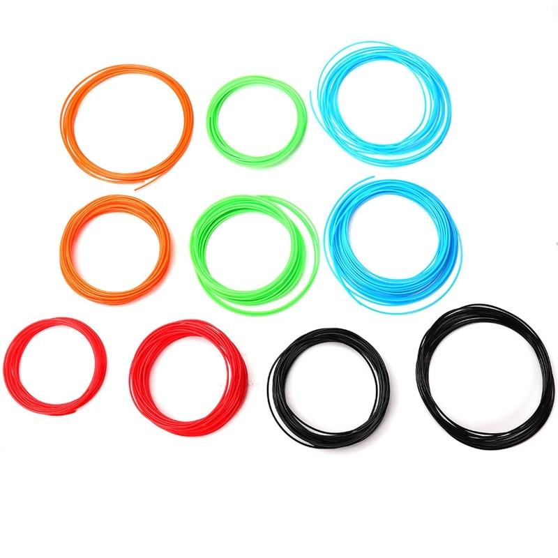PLA 3D Pen Filament 5M 10M Print Filament Diameter 1.75mm Plastic Filament For 3D Handle For Drawing With Plastic