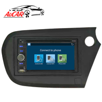Android 8.1 2 din 1 din car radio DVD Player GPS Navigation for Honda insight 2010 2011 2012 2013 Bluetooth WIFI 4G IPS Stereo