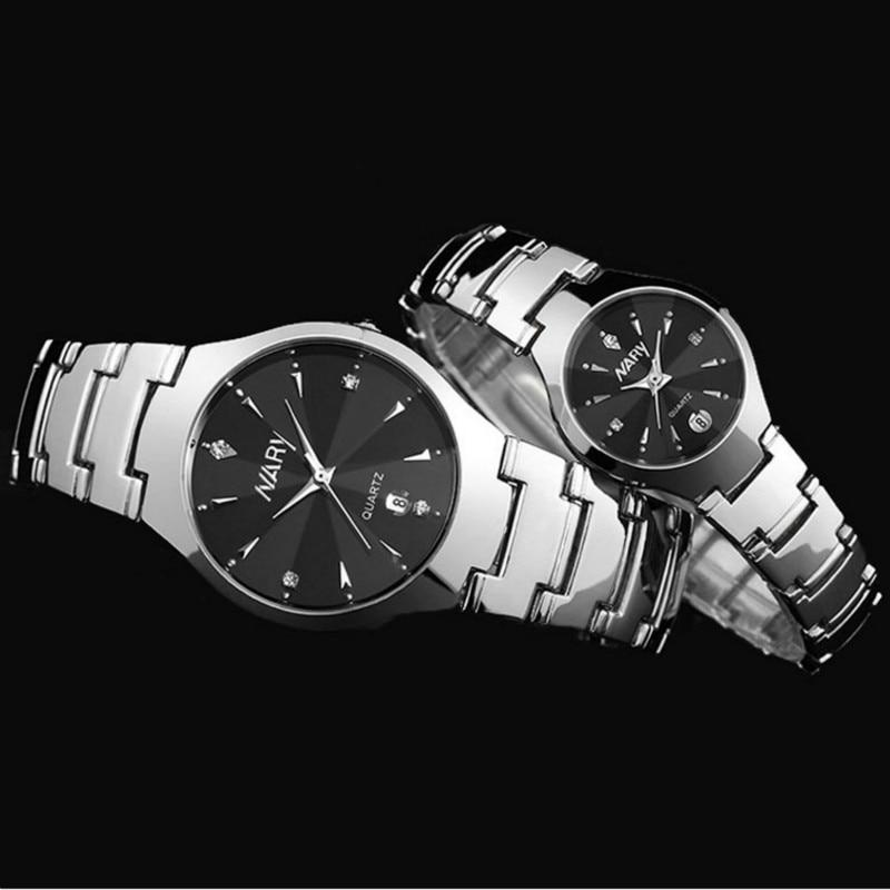 Business Lovers' Wristwatch Quartz Stainless Steel Watch Clock Timer Women Men Watches Relogio Masculino Boyfriend
