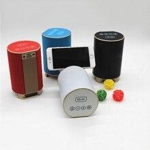 Sans fil Intelligent Bluetooth Haut-parleurs de Soutien FM Radio TF Carte Haut-Parleur Étanche avec Support Pour iPhone 7 7 Plus Mobile Téléphone