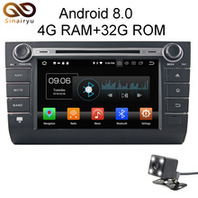 Sinairyu Android 8.0 8 Core 4G RAM Car DVD GPS For SUZUKI Suzuki Swift 2004-2006 2007 2008 2009 WIFI Autoradio Multimedia Stereo
