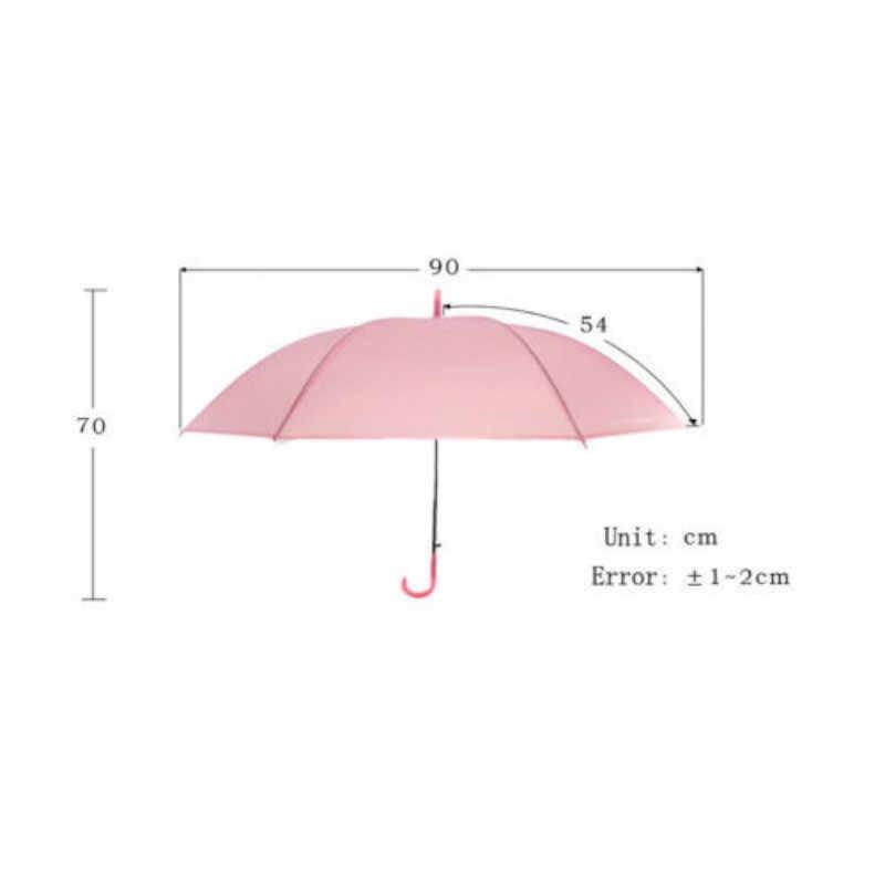 Красочный прозрачный автоматический зонт от дождя купол сувенир для свадебной вечеринки водонепроницаемый