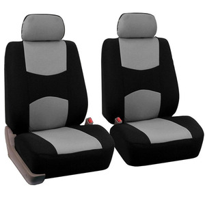 Image 5 - 1 Set 4/9pcs Car Seat Cover General Polyster Dustproof Automobiles Seats Cushion Cover Set Fit For Most Car SUV Or Van