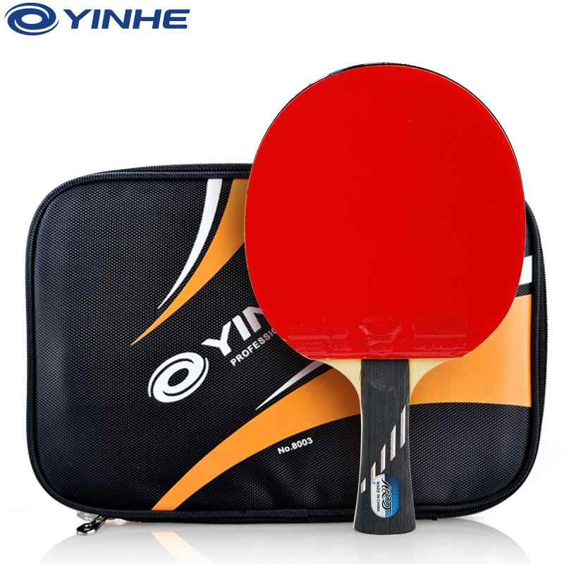 Genuine YINHE Galaxy 9/10 star Table tennis racket PingPong bat high quality Racket carbon blade table tennis bat
