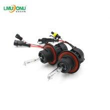 LMUSONU всех автомобилей Универсальный H13 автомобиля одинарный ксеноновый Headligh разрядные лампы высокой интенсивности Цвет Температура 4300 K 6000 K 8000 K высокие и низкие фары дальнего света
