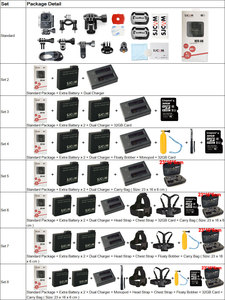 Image 5 - Original SJCAM M20 Air Action Camera WIFI Waterproof 1080P NTK96658 12MP Helmet Video Camera Sports DV